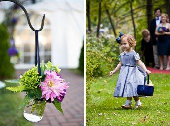 Flower girl   New Hampshire Mountain Wedding