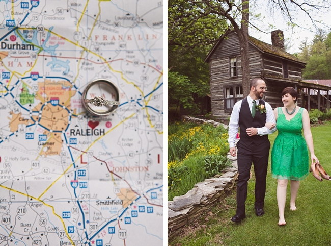 valle crucis elopement map of NC