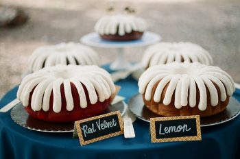 bunt cakes photo by Gaby J Photography