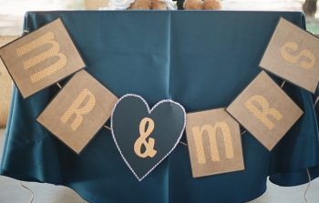 Mr + Mrs Signs photo by Gaby J Photography