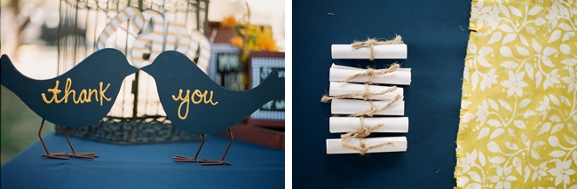 wooden painted birds with thank you written on them photo by Gaby J Photography