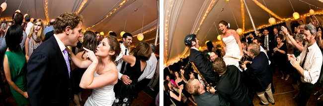 wedding reception dancing | New Hampshire Mountain Wedding