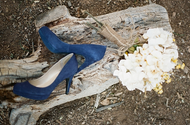 blue suede wedding shoes Gaby J Photography