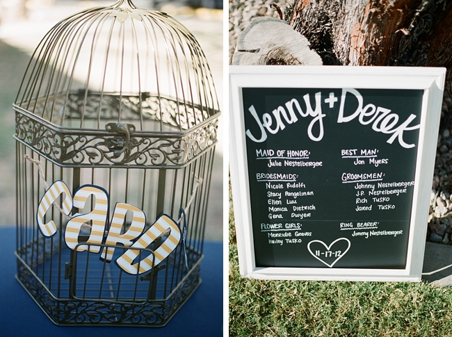 birdcage card holder by Gaby J Photography