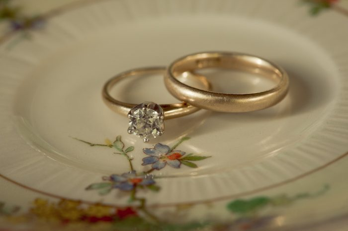 Mountainside Bride vintage Tiffany's Diamond Engagement Ring