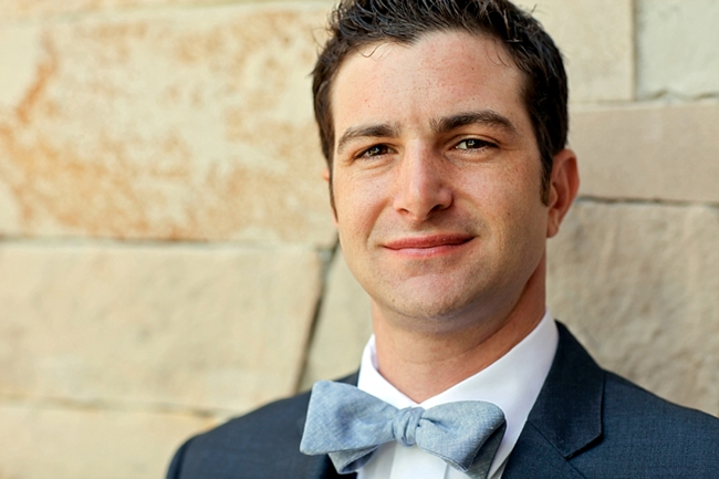 groom | Park City Wedding via http://MountainsideBride.com
