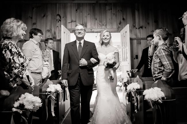 13-father-of-bride-walks-bride-down-aisle-Highlands-NC-Wedding-Shutter-Love-Photography