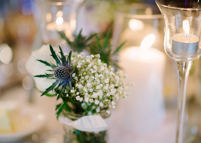 babysbreath centerpiece