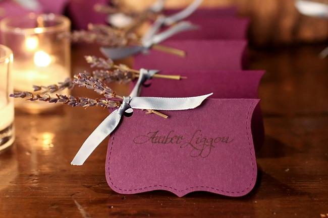 escort cards  | Park City Wedding via MountainsideBride.com