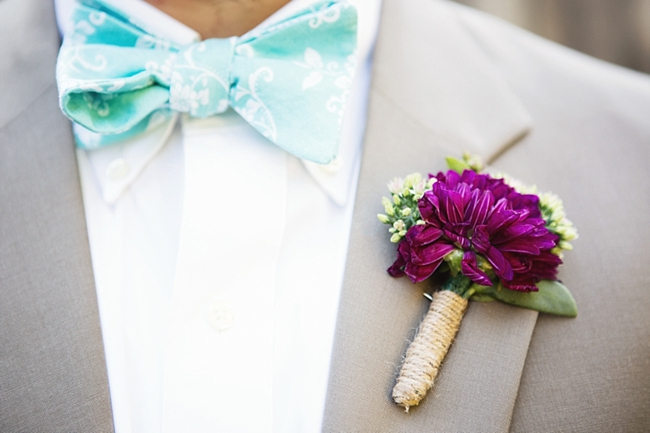 boutonniere rustic chic wedding via https://mountainsidebride.com