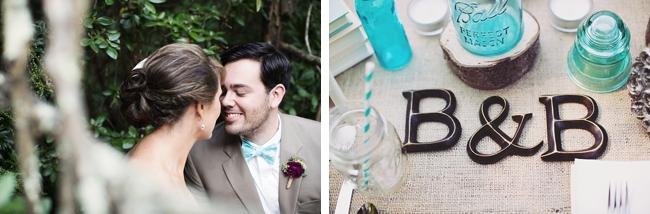 monogram rustic chic wedding via https://mountainsidebride.com