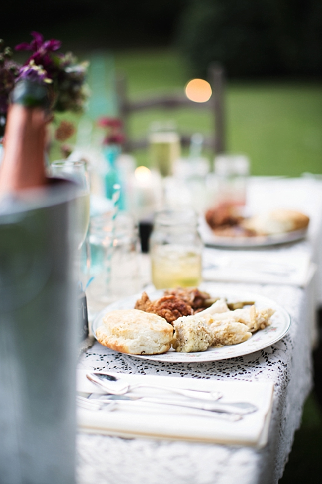 country style food rustic chic wedding via https://mountainsidebride.com