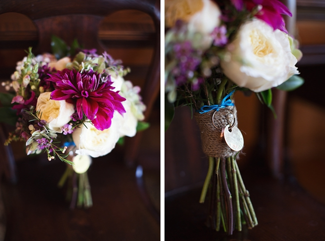 bouquets rustic chic wedding via https://mountainsidebride.com