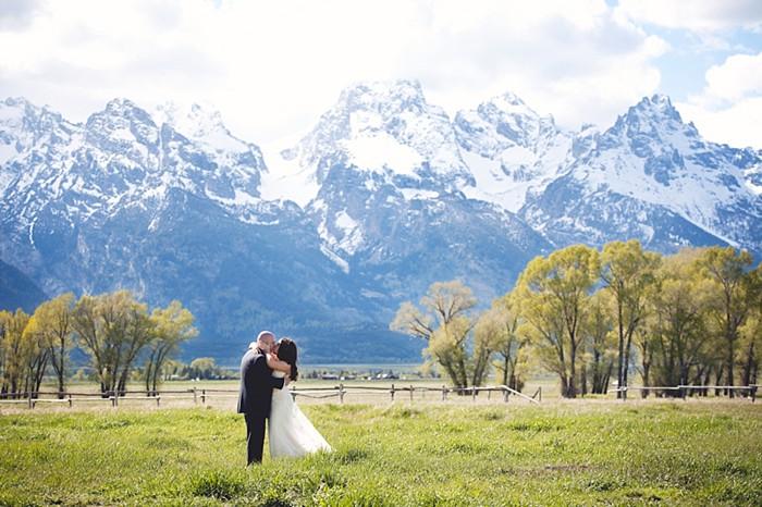 Jackson Hole Rustic Elopement via http://mountainside Bride
