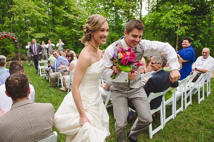 southern mountain ceremony via https://mountainsidebride.com