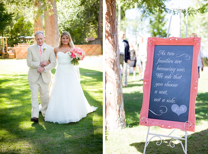 pick a seat chalk board sign Tahoe Wedding via https://mountainsidebride.com