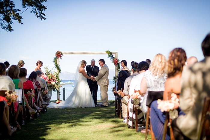 wedding ceremony Tahoe Wedding via https://mountainsidebride.com