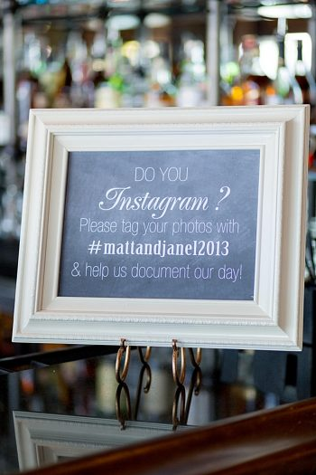 Instagram chalk board sign Tahoe Wedding via https://mountainsidebride.com
