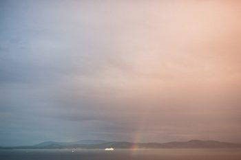 Mount Douglas Engagement via https://mountainsidebride.com