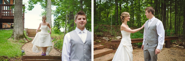 first look in the southern mountains via https://mountainsidebride.com