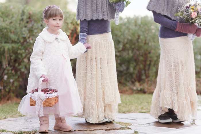 best bridesmaids attire 2013 Sierra Nevada Weddings