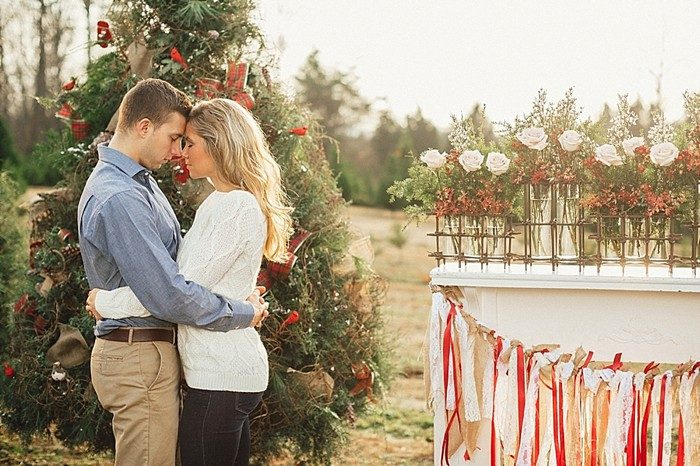 Tennessee Christmas Tree Farm Styled Shoot