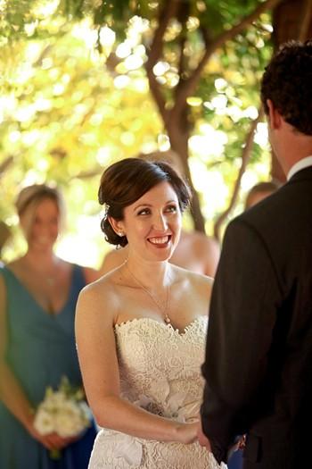 Salt Lake City wedding ceremony