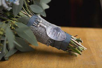 vintage spoon bouquet handle