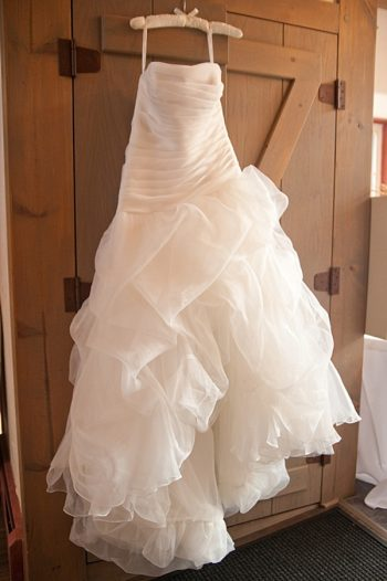 Fluffy wedding dress | Colorado Wedding