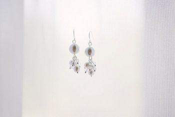 beaded earrings - Mount Rose Wedding