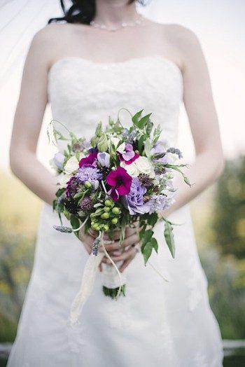 pretty casually elegant bouquet