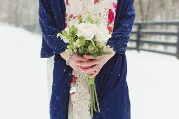 snowy Tennessee bridals