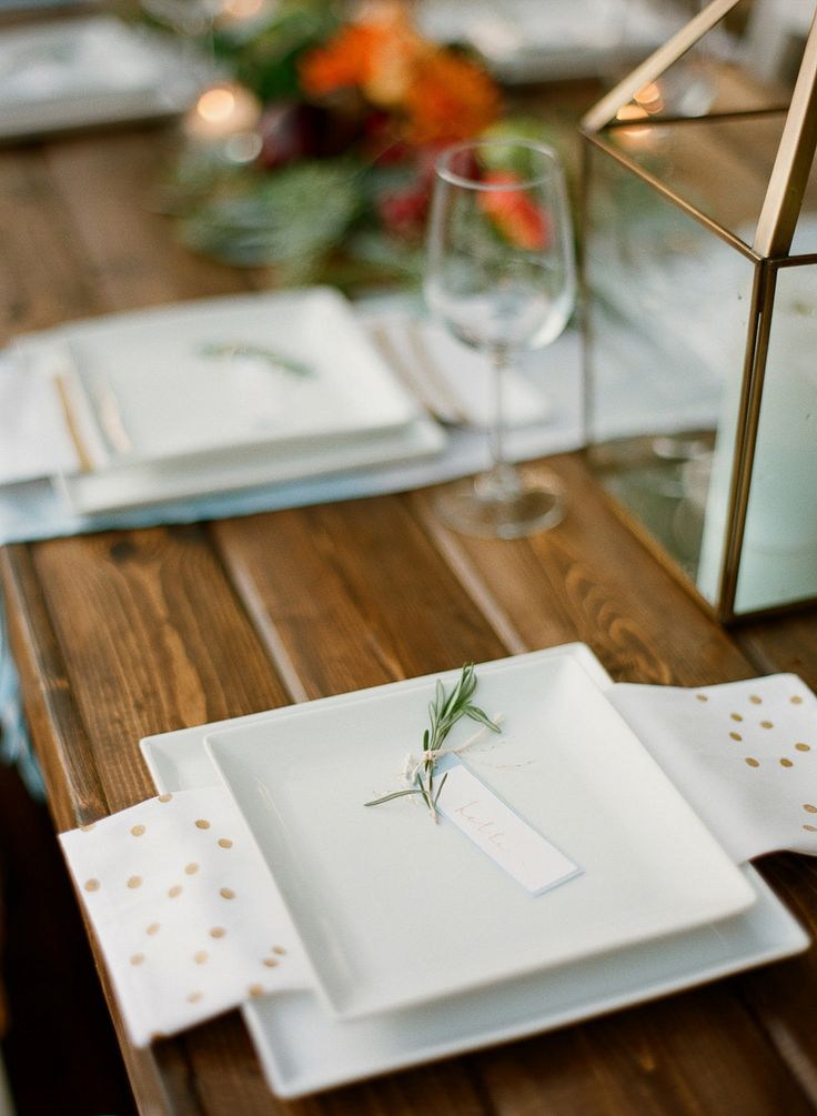 Rustic Colorado Tablescape