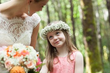 flower girl emotion