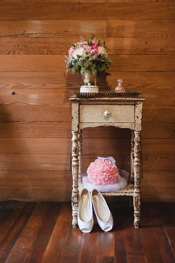 carnation pompadour Tennessee Mountain Wedding