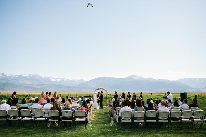 Bridgeport mountain wedding