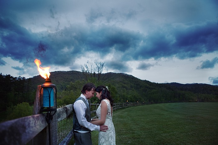 thank you message Asheville Wedding Marissa Joy Photography via Mountainside Bride