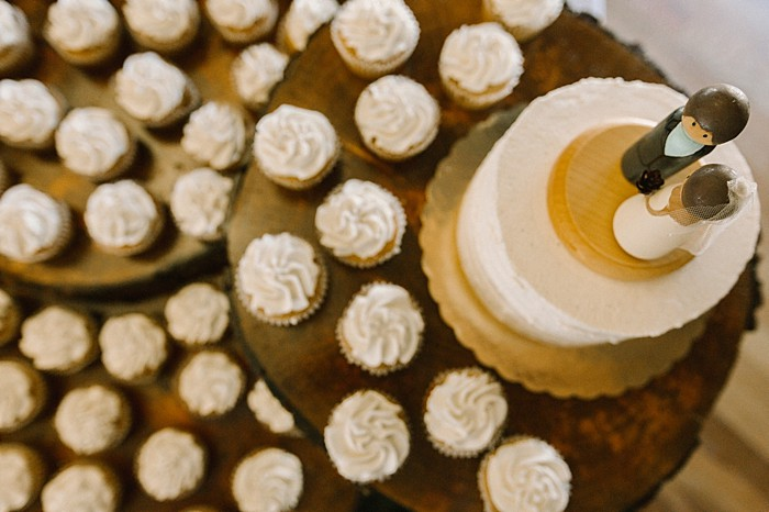 wedding topper cupcakes | JoPhoto |Townsend Tennessee