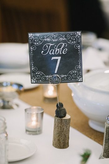 table number| JoPhoto |Townsend Tennessee