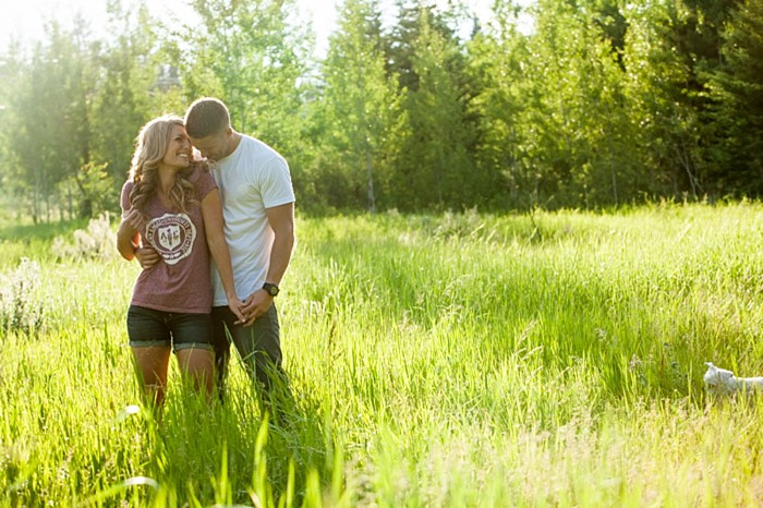 Casual red converse sneaker engagement shoot | Photo by One Edition Photography