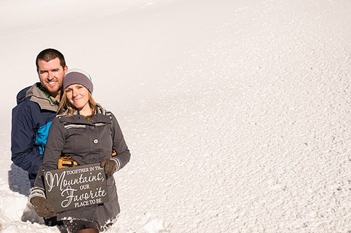 Breckenridge Backcountry Engagement shoot Photography by James Moro