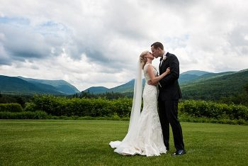 bride and groom in the White Mountains | Photography by AMW Studios | see more on MountainsideBride.com