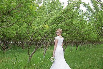 1 Utah Orchard Bridals | Amber Shaw Photography