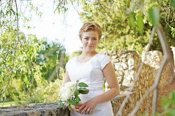 Utah Orchard Bridals | Amber Shaw Photography