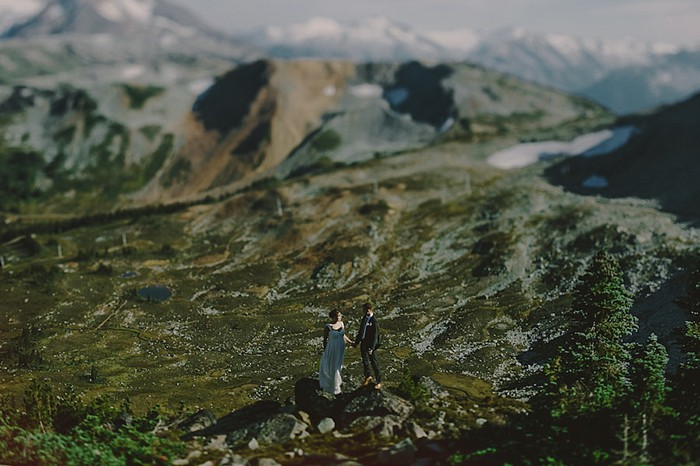 tiltshift  | Whistler wedding | Tomasz Wagne