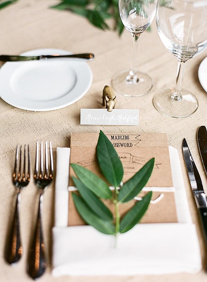 romantic table setting Devils Thumb Ranch Wedding Laura Murray