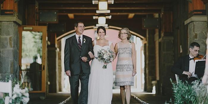 wedding processional | Whistler wedding | Tomasz Wagne