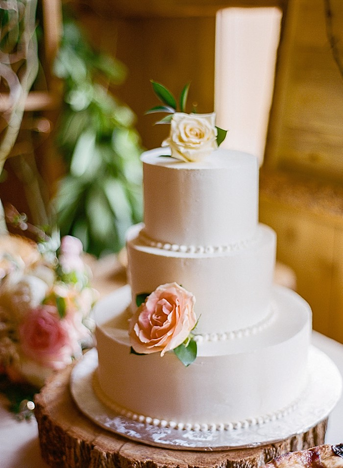 wedding cake Devils Thumb Ranch Wedding Laura Murray