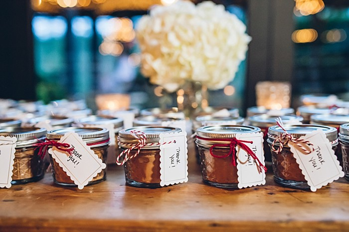 jam favors | Old Edwards Inn Wedding | Crystal Stokes Photography