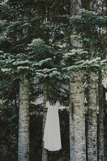 custom bridal gown | Whistler wedding | Tomasz Wagner